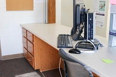 Tutt Front Desk Renovation (UWW University Housing) Tags: tutthall frontdesk renovations winterbreak uww uwwhousing uwwhitewater
