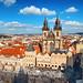 Old Town Square, Prague, Czech Republic.