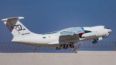 Ilyushin 76TD Takeoff (MetebAli15) Tags: il76td il76 aviaconzitotrans russianplane russian aircraft russia cargo heavy ilyushin76 ilyushin76td takeoff avgeek aviation life tabuk تبوك السعودية saudi arabia saudiarabia