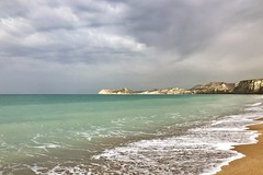 Bushehr, Iran (nimamalek) Tags: بوشهر ایران snapseed iphonex iphone8plus iphone8 shotonmobile mobilegraphy iphoneography appleiphone iphone apple tourguid tour tourist travel mood relax air fresh rainy stormy cloudy clouds cloud sky rocks rock mountain mountains foam water golden sand persiangulf seashore sea port beach bushehr iran