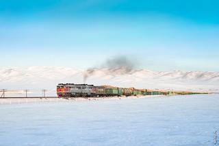 Locomotive 2TE116 ...
