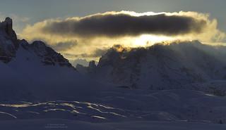 Evening light at Monte Cristallo