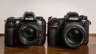 Duel // Nikon D100 (2002) / Nikon D500 (2016)