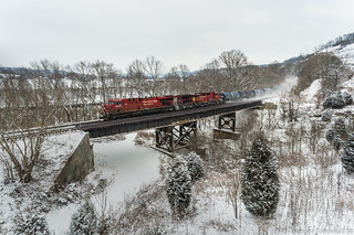 Canadian Pacific in Prichard, WV