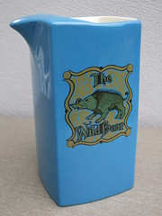 Kitsch 1970's Carlton Ware The Wild Boar Blue Ceramic Water Jug (beetle2001cybergreen) Tags: kitsch 1970s carlton ware the wild boar blue ceramic water jug
