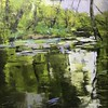 I Chatter, chatter as I flow (www.sandragraham.co.uk) Tags: landscape brook oil painting worcestershire shropshire contemporary art sandragraham nature dowles artists artist impasto mindfulness society