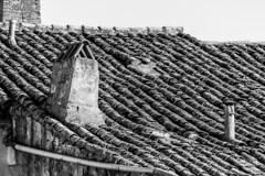 Spain - Seville - Guadalcanal (Marcial Bernabeu) Tags: marcial bernabeu bernabéu españa spain spanish español española andalucia andalusia andalucía andalusian andaluz andaluza sevilla seville sevillano sevillana guadalcanal tejado tejas top roof tiles monocromo monochrome village pueblo arquitectura architecture chimney chimenea