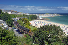2A17 @ St. Ives (Wesley van Drongelen) Tags: gwr first great western railway dmu diesel multiple unit class serie série reeks br baureihe reihe type 150 sprinter st saint ives cornwall erth branch bay line train trein zug fgw
