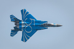 Singapore Airshow 2018 [Explore] (BP Chua) Tags: rsaf rsaf50 singapore airshow jet fighter fky flying aviation aircraft military blue canon canon1dx 400mm airforce