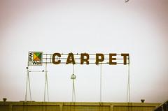 carpet sign (janette_j) Tags: carpet sign ogden utah nikon n65