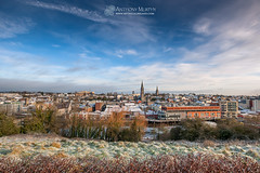 Drogheda in the snow (mythicalireland) Tags: snow snowfall weather cold winter wintry dawn morning sunrise drogheda louth ireland townscape streets steeples churches landscape