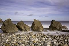 The 4 sisters (Mark240590) Tags: beach coast seaside seascape rocks long exposure longexpo longexposure