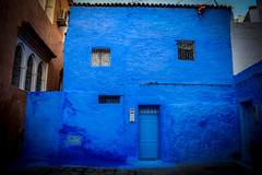 Blue house (kimnnn) Tags: chefchaouen morocco blue outdoor travel africa urban