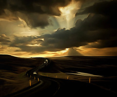 From Iceland. (Tóta. 27.12.1964.) Tags: landscape clouds sky grass car iceland ísland