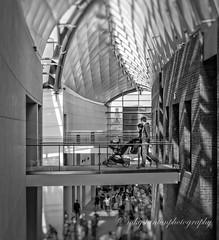 strolling (mgstanton) Tags: pem museum salem peabodyessex blackandwhite bw stroller stroll babycarriage
