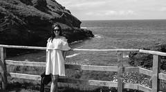 My girl (njackson197111) Tags: cornwall girlfriend sea cliffs