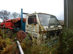 LIB 1031 - Robert McKendry Plumbing & Heating Supplies Ballymoney County Antrim (Jonny1312) Tags: manvw lorry truck cullybackey ballymoney car mitsubishi mitsubishi3000gt scrap rust