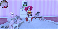 My dog Princess stole my candy 😡🍬 (Bella Boissel) Tags: theplayroomevent afrobabystore {lulabelle} {babybugs} twinbeautysl basil thimble toddleedoo fashion model pretty touch female second life girl to live closet clothing accessories photograph photography photo