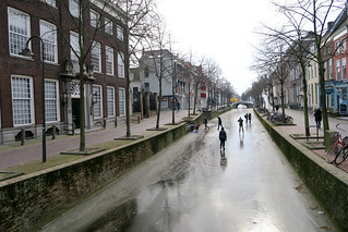 Skating the City Canals