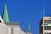 Nikolaikirchturm (03) (Rüdiger Stehn) Tags: 2000er 2000s europa deutschland norddeutschland schleswigholstein bauwerk profanbau innenstadt stadtmitte stadt sakralbau kirche kirchturm nikolaikirche gebäude canoneos550d kiel nikolaikirchekiel kielaltstadt rüdigerstehn 2018 dachreiter