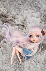 The sweetness (·Yuffie Kisaragi·) Tags: doll pullip papin custom akai arashi daphire obitsu rewigged rechipped