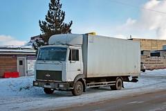 MAZ-4371  А 170 РУ 33 (RUS) (zauralec) Tags: город автомобиль улица транспорт грузовик екатеринбург maz4371 а 170 ру 33 rus yekaterinburg ulitsamontazhnikov