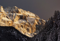 Val Gardena in South Tyrol (panoround hutter) Tags: italy southtyrol dolomiten berg nature snow winter ski hutter design hutterdesign