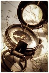 Compass (albertomazzei1) Tags: bussola compass cartaaeronautica chart planning pianificazione navigazione stilllife orientamento albertomazzei