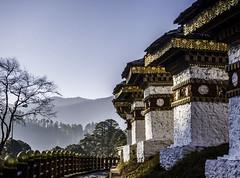 108 Stupas at Dochu La, Bhutan