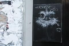 Matt Thieu_1569 rue Biot Paris 17 (meuh1246) Tags: streetart paris animaux mattthieu ruebiot paris17 oiseau autruche