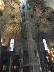 (sftrajan) Tags: igreja vaulting church monastery lisboa lisbon jerónimosmonastery mosteirodosjerónimos belém portugal manuelinestylearchitecture estilomanuelino unescoworldheritagesite monasteriodelosjerónimosdebelém stylemanuélin monastèredeshiéronymites arquitecturamanuelina