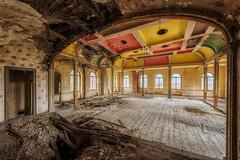 Unstable (Photonirik) Tags: ballroom urbex decay urban exploration oblivion abandoned abandonné oubli forgotten ue dust