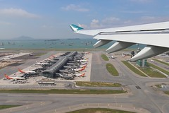 Midfield Concourse, HKIA (EddieWongF14) Tags: hkg vhhh hkia hongkonginternationalairport hongkong birdseyeview