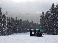 On The Slopes (chloe.askin) Tags: skiing skiresort skihill ski snowfall snow snowflake snowing snowboarding mountain mountains amateur samsung nature adventure explore trees