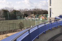School Field (Quiich) Tags: classroom ca japan school campus outside field happy bright