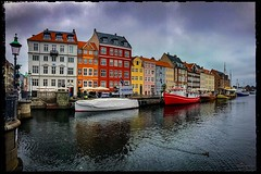 Cloudy Day (Thanks for over 2 million views!!) Tags: nyhavn copenhagen copenhagendenmark denmark water buildings chadsparkesphotography canoneosrebelt5 clouds boats
