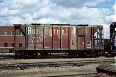CB&Q Class HC-1B 181740 (Chuck Zeiler) Tags: class hc1b 181740 burlington railroad covered hopper freight cicero train car chuckzeiler cbq