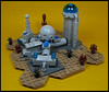 Space Station 'Peace' (Karf Oohlu) Tags: lego moc microscale vignette spacestation peacestation alien scifi