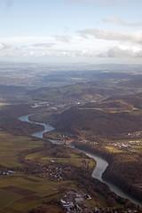 winding Rhine (Riex) Tags: flying envol aerial aerialphotography birdseyeview rhine rhein rhin river riviere fleuve waterway landscape paysage farmland campagne coursdeau eglisau glattfelden suisse schweiz switzerland zurich g9x
