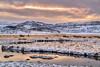 (Clint Everett) Tags: landscape nature mountains iceland sunrise winter morning reykjanes peninsula kleifarvatn sky