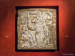 DSC7616 Dintel 16, Estructura 21 de Yaxchilan, Imperio Maya, hacia el 755-770, Chiapas, México, British Museum, London (Ramón Muñoz - Fotografía) Tags: british museum museo británico londres london estructura 21 de yaxchilan méxico dintel chiapas