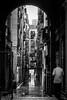 Barcelone sous la pluie 3 (Olivier DESMET) Tags: barcelone espagne noirblanc catalogne olivierdesmet barcelona street streetphoto urbain urban pluie rain rue paysageurbain scenederue photosderue blackandwhite bw monochrome canon 6d 40mmstm