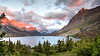 Sunrise at St. Mary Lake... (Iftekhar Naim) Tags: mountainlake stmarylake glaciernationalpark lake sunrise nature wilderness twilight mountains glacier