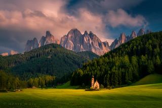 The Fairyland of Dolomities