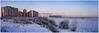 2018-01-23 SPb, Finland gulf, frost 198 (Mandir Prem) Tags: outdoor places stpetersburg brige city colour finlandgulf frost frozen horizon ice landscape nature postcard russia saintpetersburg snow sunset travel tree winter