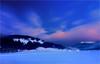 I talk to the wind (Gio_ guarda_le_stelle) Tags: kingcrimson italktothewind dolomiti dolomites dolomiten snowscape sunset sera tramonto afterglow crepuscolo dobbiaco toblach mountainscape