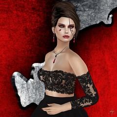 Ruby Rhapsody (Algezares (III)) Tags: secondlife lelutka maitreya heartsdale jewelry jewellery hj lace necklace earrings ruby