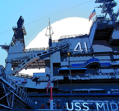 PC271247sadfttt (photos-by-sherm) Tags: uss midway us navy aircraft carrier san diego ca winter airplanes fighters bombers interior exterior flight deck