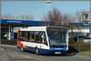 25243, Westwood (Jason 87030) Tags: stagecoach 25243 white blue red orange versa optare thanet kent tesco everylittlehelps shot sony ilce bus februaty westwoodcross shops retail sunny weather yj59gfo 56 margate broadstairs route service