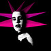 Forever Knight - Janette DuCharme Art Deco - Low Poly Pink Rays
